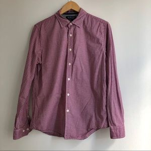 F21 Men Button Down Long Sleeve Size M